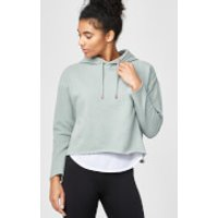 Luxe Classic Hoodie - M - Soft Khaki Marl