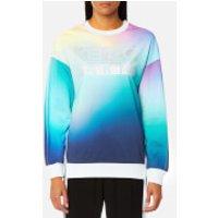 KENZO-Womens-Northern-Lights-Zipped-Sweatshirt-Multi-L-Multi