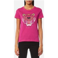 KENZO Women's Tiger Classic T-Shirt - Deep Fuchsia - M - Pink