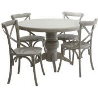 Vermont Five Piece Dining Set - Grey Wash