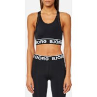 Bjorn Borg Womens Solids Bianca Sport Top - Black Beauty - EU 42/UK 14 - Black