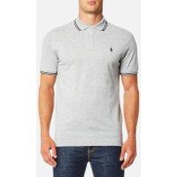 Polo Ralph Lauren Men's Tip Mesh Polo Shirt - Grey - S - Grey