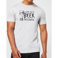 Beershield Beer Pressure Men's T-Shirt - XXL - Grey - Beer Gifts
