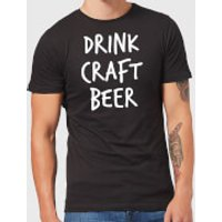 Beershield Drink Craft Beer Men's T-Shirt - M - Black - Beer Gifts