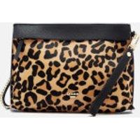 Dune Womens Eharriet Leopard Print Clutch Bag - Leopard