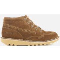 Kickers Kids Kick Hi Boots - Dark Sand - UK 4 Youth/EU 37 - Brown