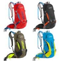 Camelbak Mule Low Rider Hydration Backpack 15 Litres - Black/Laser Orange