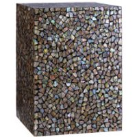 Fifty Five South Fusion Square Side Table - Crackle Mosaic - Furniture Gifts