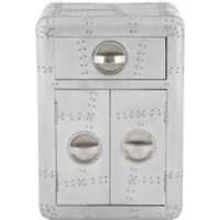 Fifty Five South New Aviator Side Table - Aluminium - Furniture Gifts