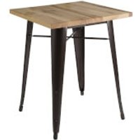 Fifty Five South Aldgate Table - Crack Copper Powder Coated Finish