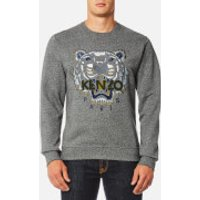 KENZO Men's Classic Icon Sweatshirt - Anthracite - S - Grey
