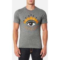 KENZO Men's Classic Eye T-Shirt - Anthracite - XS - Grey