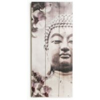 Art For The Home Buddha Print Wall Art On Wood - Buddha Gifts
