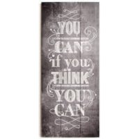 Art For The Home You Can Typography Wall Art Print On Wood