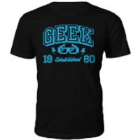 Geek Established 1980's T-Shirt- Black - S - 1988