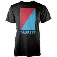 Image of Taurtis Box Logo Insignia Men's T-Shirt - L - Black
