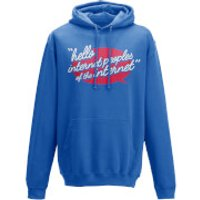 Image of Taurtis Hello Internet Peoples Men's Pullover Hoody - L - Blue