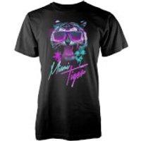 Farkas Miami Tiger Men's Black T-Shirt - XXL - Black - Tiger Gifts
