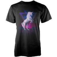 Farkas Last Laser Unicorn Mens T-Shirt - S - Grey