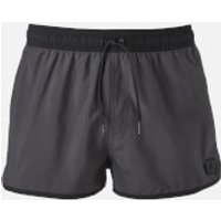 adidas Swim Mens Split Shorts - Utility Black - XL - Black