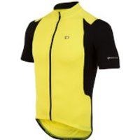 Pearl Izumi Select Pursuit Short Sleeve Jersey - Screaming Yellow/Black - S - Yellow/Black