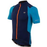 Pearl Izumi Select Pursuit Short Sleeve Jersey - Blue Depths/Bel Air Blue - S - Blue/Blue