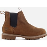 Timberland Mens 6 Inch Premium Chelsea Boots - Potting Soil Vecchio - UK 9 - Brown
