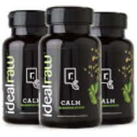 Calm - Natural Relaxation Support - 3 Bottles (90 Servings)