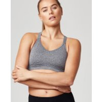 Classic Heartbeat Sports Bra - XS - Grey Marl