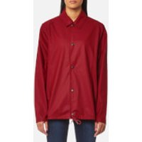 RAINS Coach Jacket - Scarlet - S-M - Red