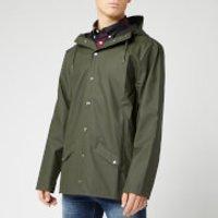 RAINS Men's Jacket - Green - XS/S
