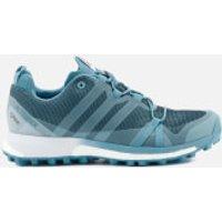 adidas Womens Terrex Agravic GORE-TEX Trainers - Vapour Blue - UK 6 - Blue