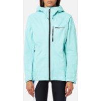 adidas Terrex Womens Fastr GTX Jacket - Clear Aqua - UK 12 - Blue