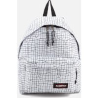 Eastpak Mens Authentic Padded Pakr Backpack - White Dance