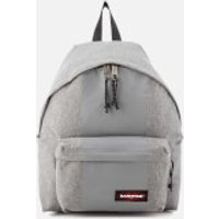 Eastpak Mens Authentic Rubber-Lay Padded Pakr Backpack - Grey Rubber
