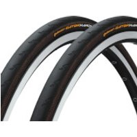 Continental Gatorskin Hardshell Clincher Tyre Twin Pack - 700C x 32mm - Black