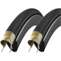 Vittoria Corsa Speed G+ Tubeless Tyre Twin Pack - 700c x 23mm - Anthracite/Black