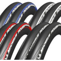 Michelin Power Endurance Clincher Tyre Twin Pack - 700c x 23mm - Black