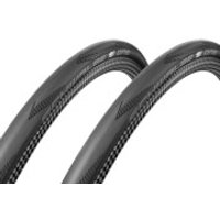 Schwalbe One V-Guard Clincher Tyre Twin Pack - 700c x 25mm - Black