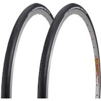 Vittoria Rubino Pro G+ Clincher Tyre Twin Pack - 700C x 28mm - Black