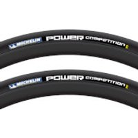 Michelin Power Competition Clincher Tyre Twin Pack - 700c x 25mm - Black