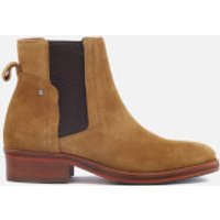 Hudson London Womens Rodney Suede Chelsea Boots - Tan - UK 4 - Tan