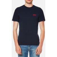 Barbour International Men's Small Logo T-Shirt - Navy - XXL