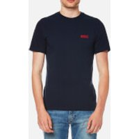 Barbour International Men's Small Logo T-Shirt - Navy - L