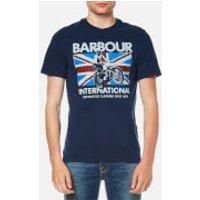 Barbour International Men's Jump Jack T-Shirt - Insignia Blue - M - Blue