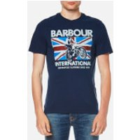 Barbour International Men's Jump Jack T-Shirt - Insignia Blue - S - Blue