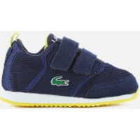 Lacoste Toddlers' L.IGHT 117 1 Runner Trainers - Navy/Blue - UK 3 Toddlers - Blue