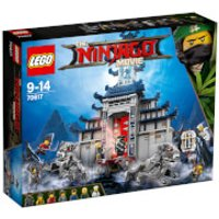 The LEGO Ninjago Movie Temple of The Ultimate Ultimate Weapon (70617)