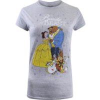 Beauty and the Beast Ladies Classic T-Shirt - Sport Grey - L - Grey