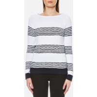 Barbour Womens Headland Knitted Jumper - French Navy - UK 12